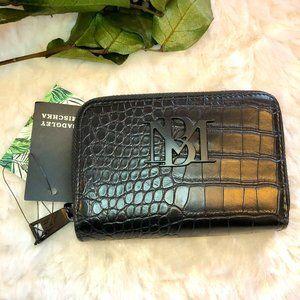 NWT Badgley Mischka Black Vegan Leather Wallet
